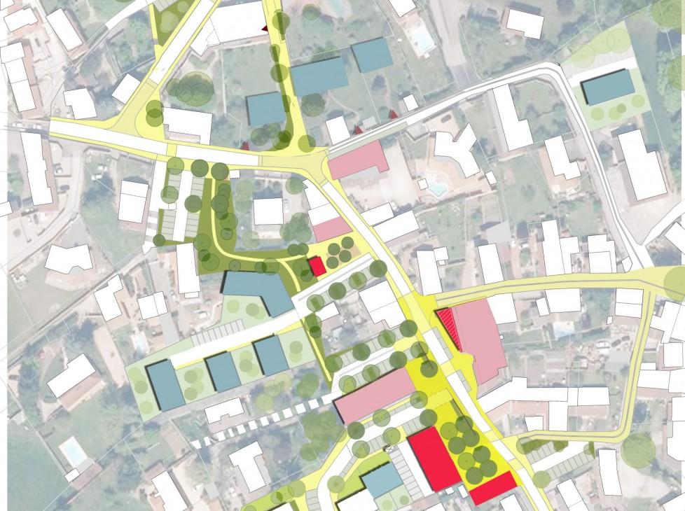 Etude de programmation urbaine du centre-bourg de Colombier