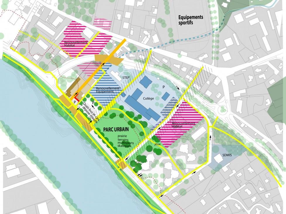 Etude de cadrage urbain et plan guide
