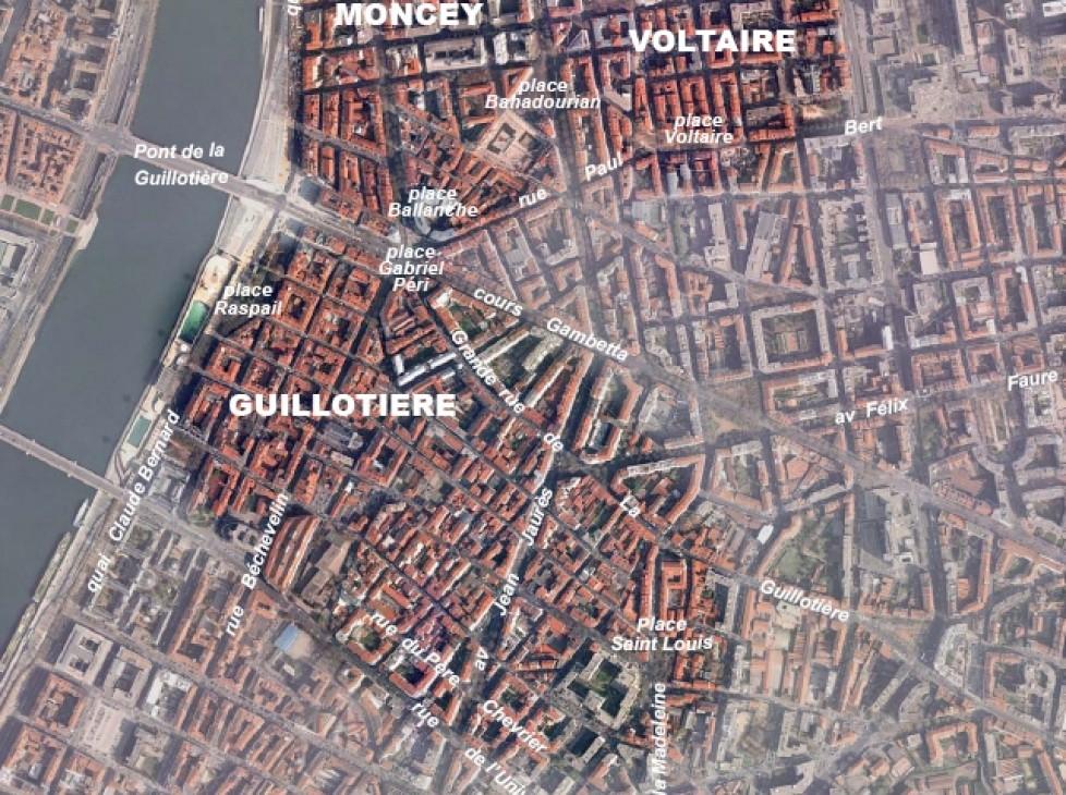 Schéma de référence du sud de la Guillotière