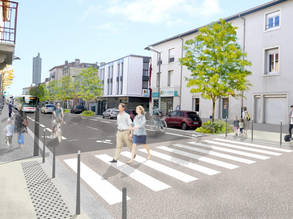 Requalification de l'avenue Lanessan et des voies résidentielles