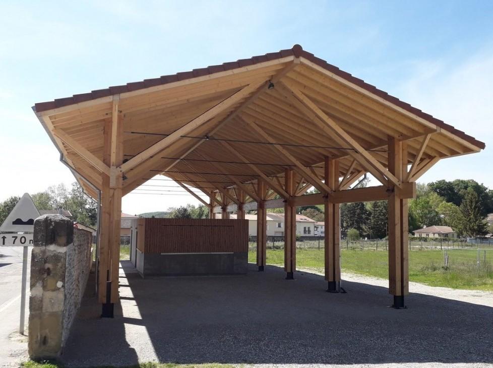 Greffe de bourg sur le site du Clos et rénovation des espaces publics
