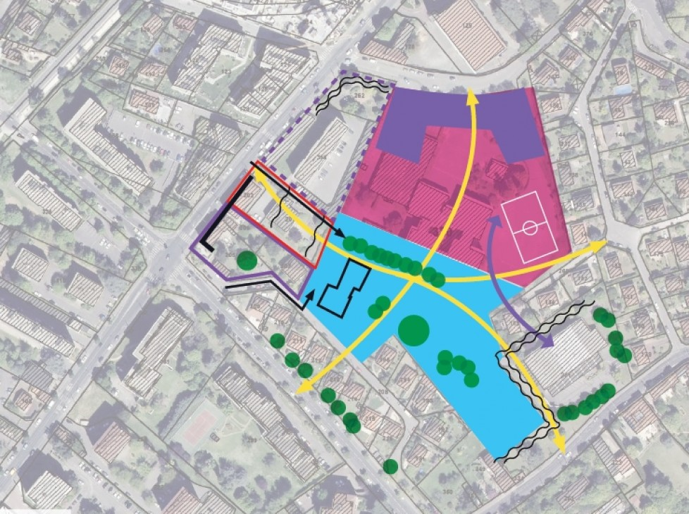 Etude de cadrage urbain de l'ilot Pasteur/Monnet