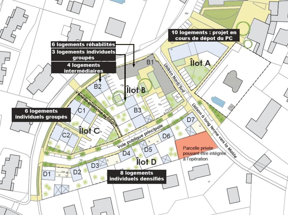 Etude de programmation urbaine et suivi opérationnel du site Verchère