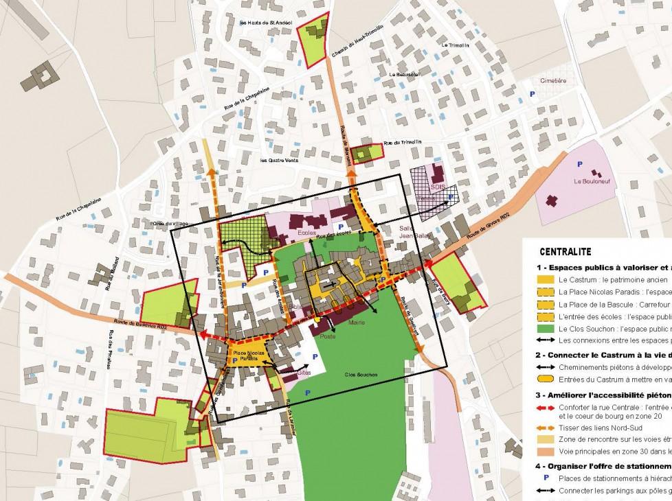 Schéma directeur et plan guide des espaces publics