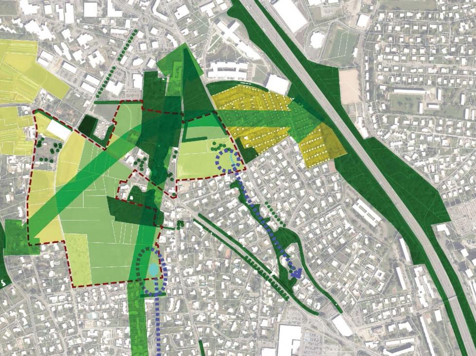 Expertise urbaine sur l'évolution du secteur Tronchon